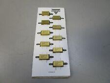 10 New Dale Rh 10 10w Watt 10 Ohm 1 Aluminum Case Wire Wound Power Resistors