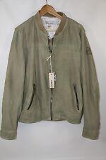 DIESEL 'Lisko' Lamb Leather Knit Jacket  MSRP $998 Current Style