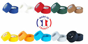 Handlebar-tape-bike-VELOX-cotton-Tressorex-retro-vintage-blue-red-brown-white