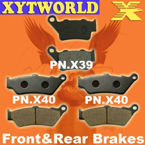 FRONT REAR Brake Pads for KTM LC-4 640 Adventure 2004-2007
