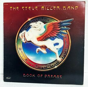 THE STEVE MILLER BAND - BOOK OF DREAMS - 1977 CAPITOL RECORDS
