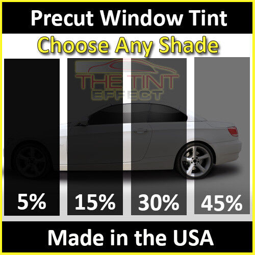 Precut Window Tint Fits 1998-2004 Nissan Frontier Visor Only Automotive Film