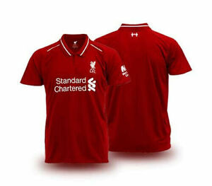 100-Official-License-2019-LFC-Liverpool-FC-Supporter-Jersey-Shirt-Red-Home