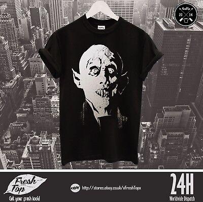 Ehrlich Nosferatu A Symphony Of Horror T Shirt Top Dracula Halloween Vampire Gift Zombie Durchsichtig In Sicht