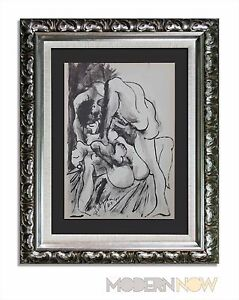 P-PICASSO-Lithograph-11-7-40-Justification-Limited-Edition-Custom-FRAMING