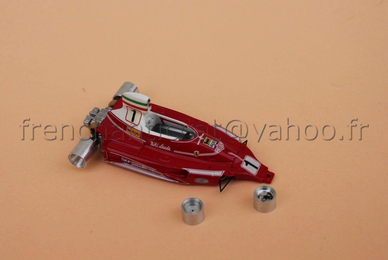 ZM Car Race Ferrari F1 312 T N°1 1 43 Miniatures Castle Heco