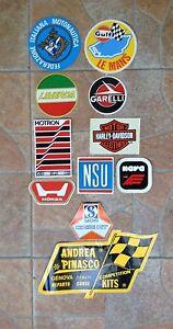 Lotto-Adesivi-Moto-Vintage-Honda-Laverda-Harley-Davidson