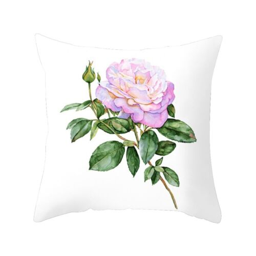 Printed Square Pillow Case Waist Throw Cushion Cover Sofa Office Home Decor