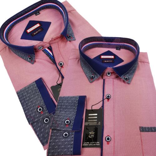4 Herren Langarm Shirt Business Freizeit Hemd Hochzeit Oberhemd  new