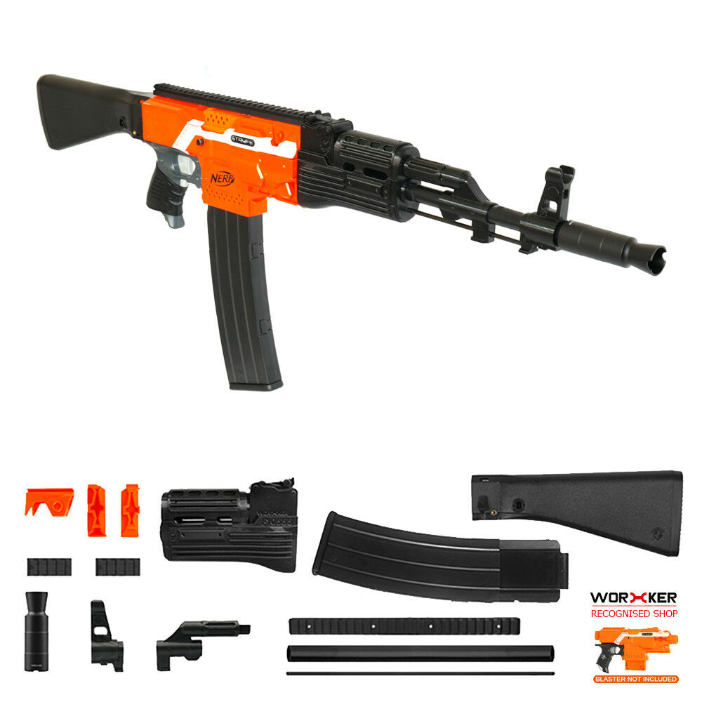 Worker MOD F10555 AKM Imitation Kit 3D Printing Combo Combo Combo for STRYFE Modified Toy 435f0c