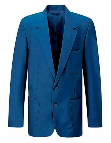 Childrens School Uniform Long Sleeves Pocket Blazer Boys Girls Casual Wear Coat