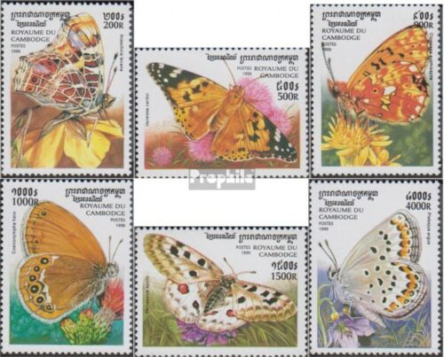 Cambodia 19301935 unmounted mint never hinged 1999 Butterflies