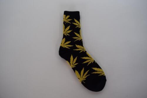 DMA Unisex Marijuana Weed Leaf Novelty Crew Socks  JetLife 420 Supreme
