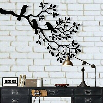 Metal Birds Art Wall Decor