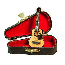 Sky Music Ukulele Miniature Musical Instrument 1:12 Small Ornament 3.5 Inch