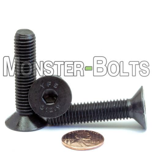 Qty 10 10mm x 1.50 x 45mm FLAT HEAD Socket Cap Screws Countersunk 12.9 M10
