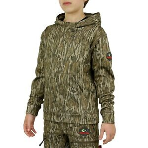 Mossy Oak Youth Performance Fleece Camo Hoodie for Kids
