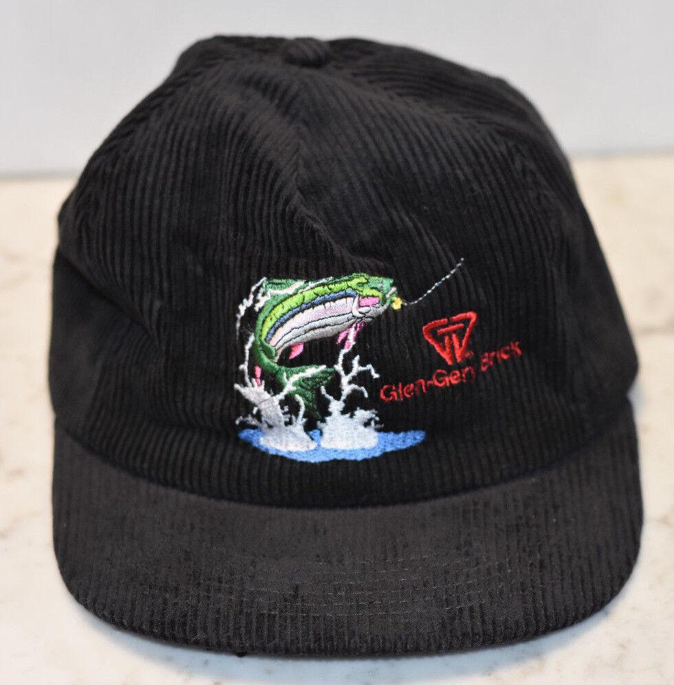 Glen-Gery Glen-Gery Glen-Gery Brick Special Edition 2002 Fishing Corduroy Baseball Hat 2fd176