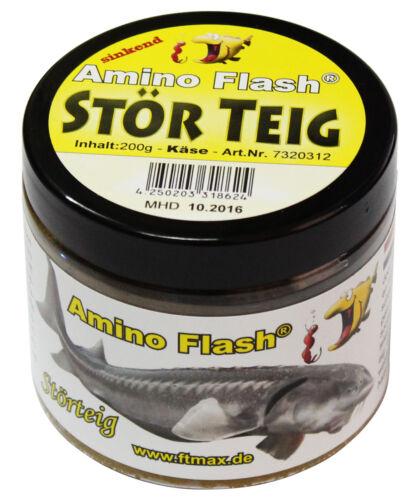 FTM Amino Flash Stör Teig 2,75€//100g 200g verschiedene Sorte sinkend