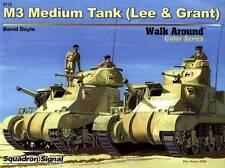 20073/ Squadron Signal - Walk Around Color 12 - M3 Medium Tank - TOPP HEFT