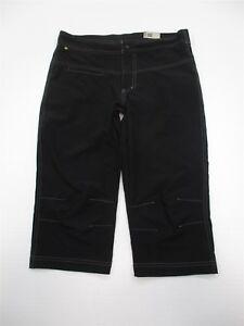 new-CANARI-Athletic-Pants-Women-039-s-Size-S-Lightweight-Black-Cycling-Capri