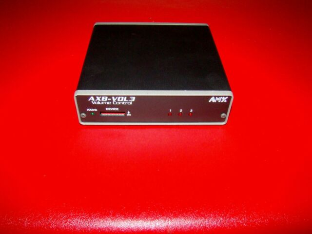 AMX AXB-VOL3 VOLUME CONTROL UNIT MODULE