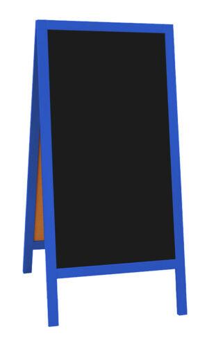 Kreidetafel Schild Preisschild Aus Holz Gehweg Schild Neu Blaue Farbe