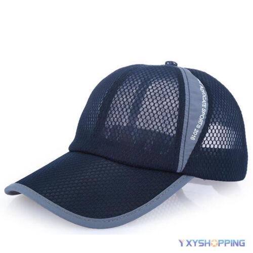 Unisex Herren Damen Basecap Trucker Kappe Mütze Baseballcap Sports Hüte Sommer