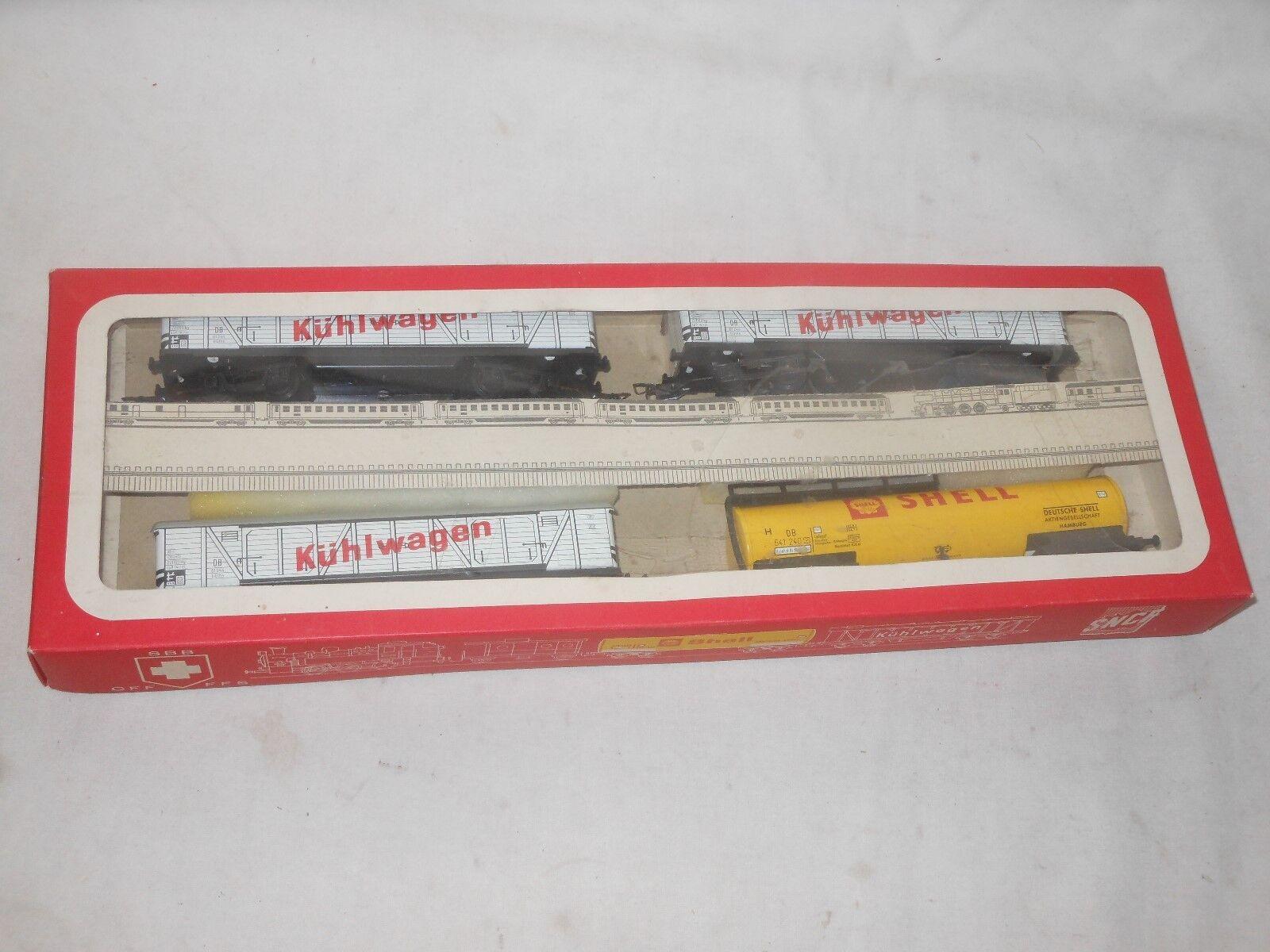 KONRAD DRESSLER - - - MODELLEISENBAHN SPUR H0 - WAGGON SET OVP - TINTOY TRAIN  | Nutzen Sie Materialien voll aus  307cb2