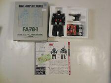 GUNDAM FULL ARMOR TYPE FA-78-1 HIGH COMPLETE MODEL 1:144 SCALE BANDAI ROBOTECH