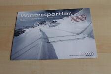 140267) Audi Q7 Q5 TT A4 - Winterpaket - Prospekt 10/2012