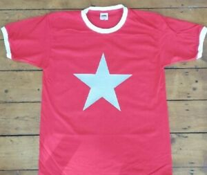 Various Colours Lightning Bolt T-Shirt Retro 1970/'s Style Glam Superhero