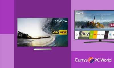 Great Savings on Large Screen TVs!