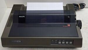 Philips-NMS-1431-MSX-Printer-Does-self-test-MSX-1-MSX-2-Printer-Vintage-amp-Rare