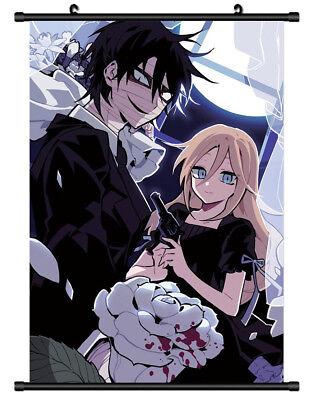 Satsuriku não Tenshi Anjos Da Morte rolo pôster parede Anime Decoração De Quarto