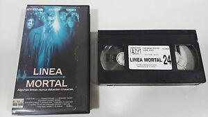 LINEA-TODLICHE-JULIA-ROBERTS-KINO-DER-HORROR-VHS-KOLLEKTOR-AUSGABE-SPANISCH