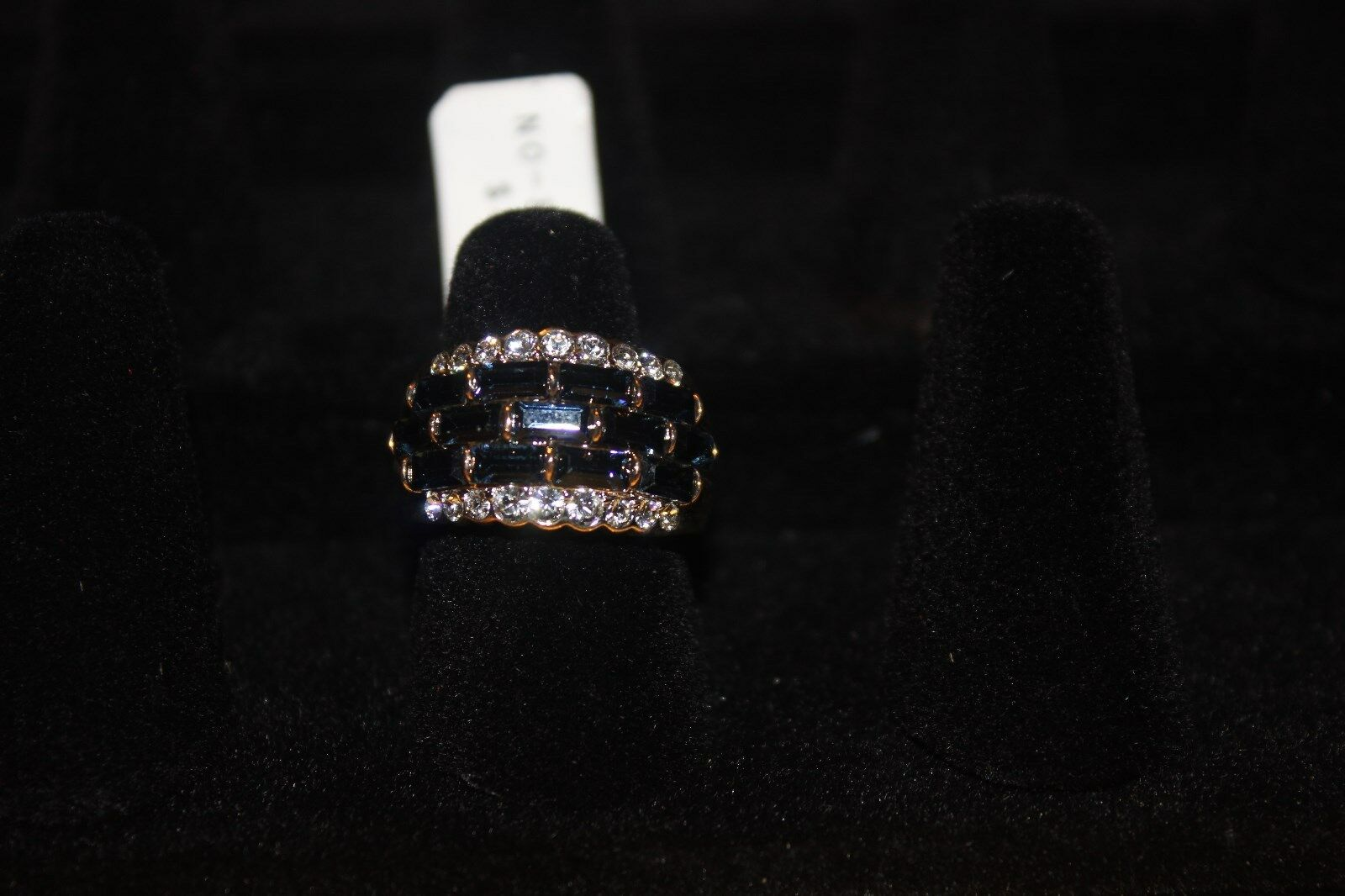 R.S. Covenant Ring Style New With Tags, Size 7 cubic zirconia saphire