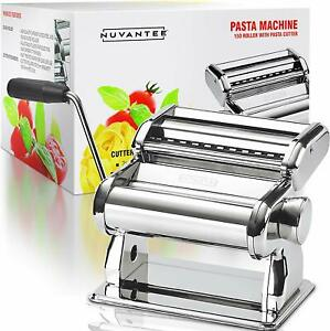 Pasta-Maker-Machine-150-Roller-With-Pasta-Cutter-7-Adjustable-Thickness-Settings