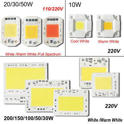 10-200W LED Chip Integrated 220V Cool White Input Light Source COB Smart IC