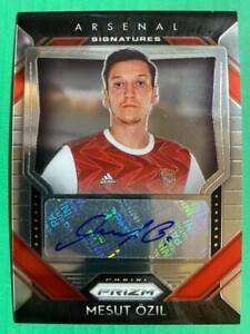 2020-21 Panini Prizm EPL Premier League Signatures Autograph Auto : Mesut Ozil