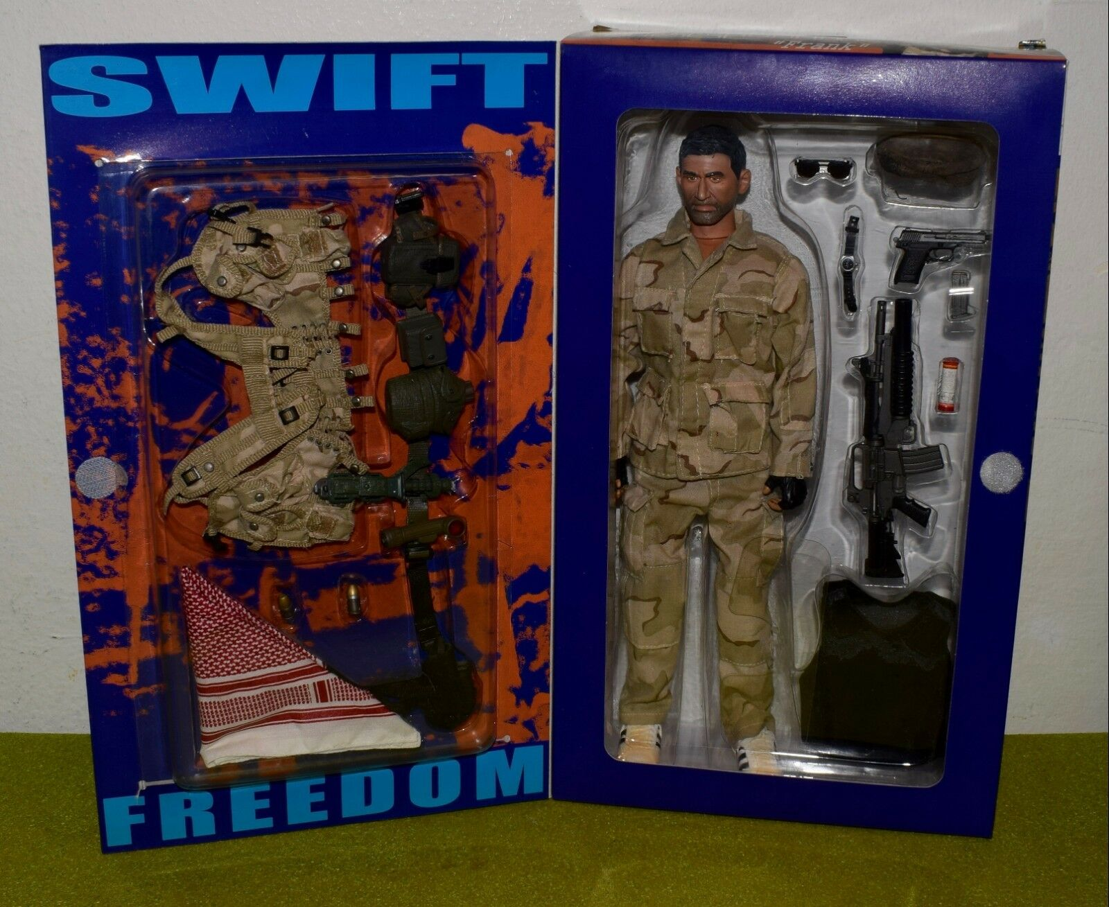 DRAGON 1 6 SCALE MODERN US FRANK SWIFT FREEDOM DELTA FORCE