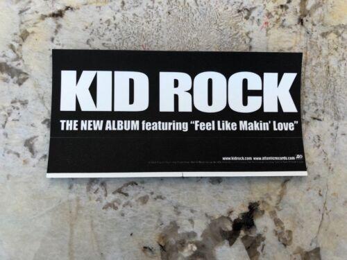 B-3 Kid Rock EAGLE STICKER FEEL LIKE MAKIN LOVE Promo Sticker RARE PROMO ONLY