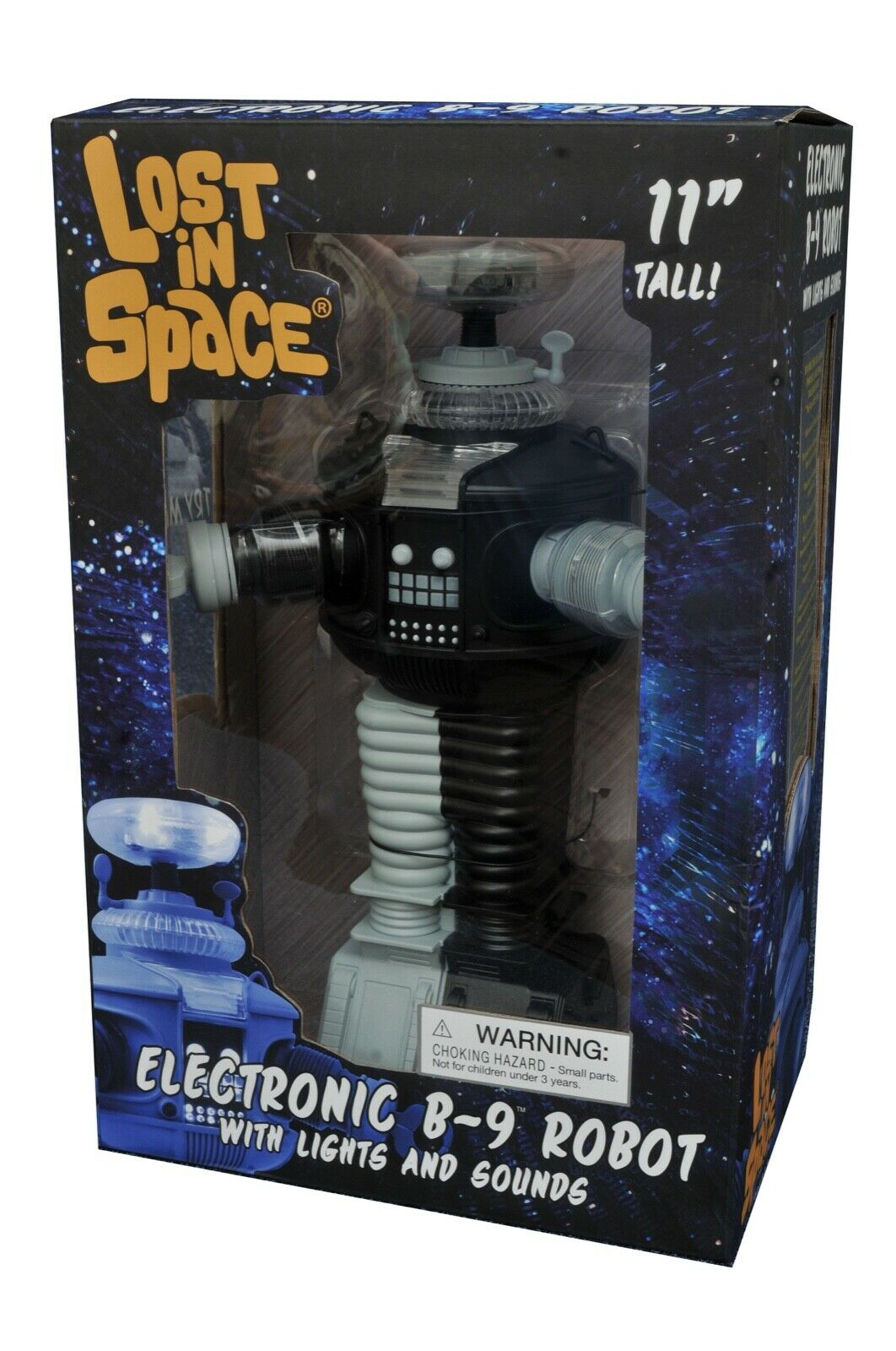 Lost In Space NEW NEW NEW B9 Antimatter Talking B-9 Robot w  Lights And Sounds 817404