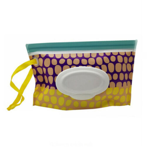 Travel Wipe Holders Wipes Case Premium Baby Wet Pouch Eco Friendly For Gift 6A