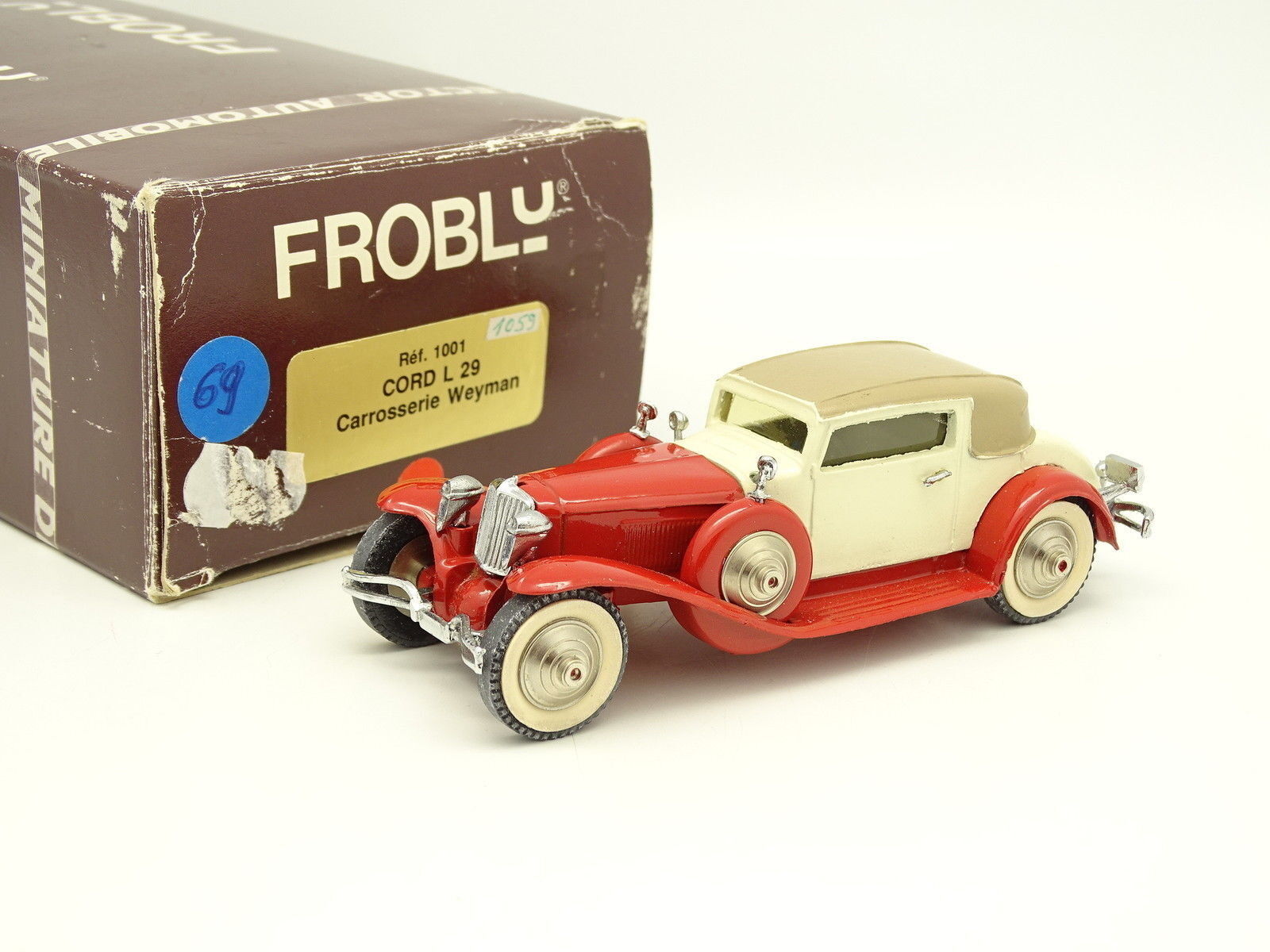 Frobly Modelle 1 43 - Kordel L29 Weyman red und white