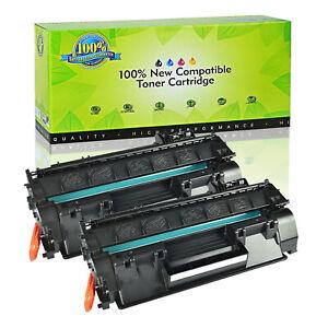 2PK CF280X 80X High Yield Toner Cartridge for HP LaserJet Pro 400 M401dn M401dne