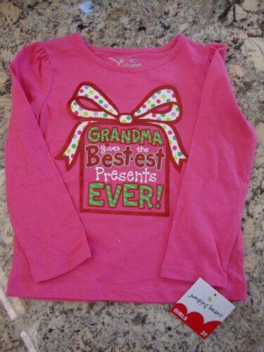 Pink Girls/' Tops Toddler Cotton Clothing Long sleeves T-Shirt Kids/' Size 3T