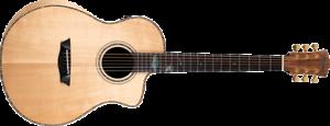 Washburn Bella Estilo Allure SC56S Guitarra Acústica, Marca Nuevo. BTSC56SCE-D-U