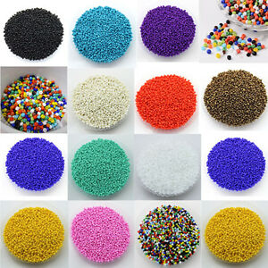Wholesale-1000Pcs-Opaque-Glass-Seed-Spacer-Beads-Jewelry-Finding-DIY-Craft-2MM