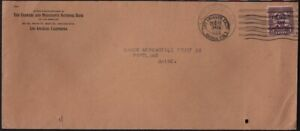 USA-1933-COVER-034-Los-Angeles-CA-034-CDS-different-cancels-on-a-pre-cancel-D3666L